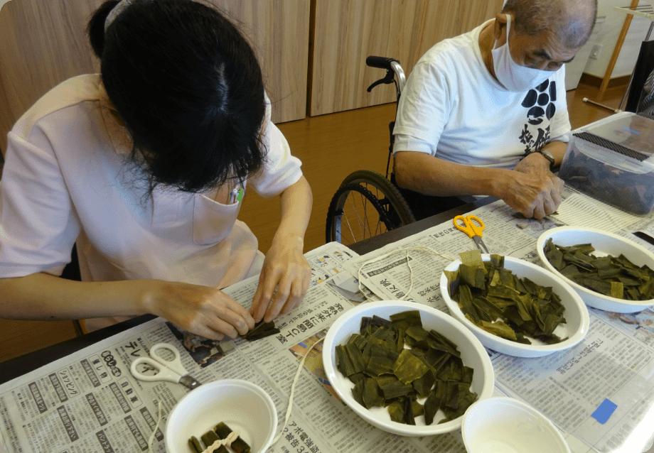 昆布巻き作業
